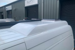 Summit Motorhomes Roof Pod External Top view White
