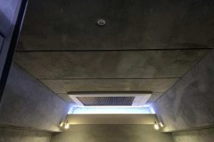 Summit Motorhomes Roof Pod Internal Finished in grey Suede
