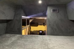 Summit Motorhomes Roof Pod Internal front view