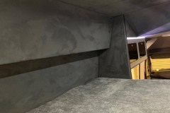 Summit Motorhomes Roof Pod Internal side view trimmed in grey