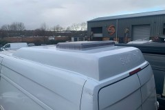 Summit Motorhomes Roof Pod in White fitted