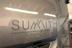 Summit Motorhomes Side Flares Logo Colourcoded